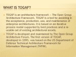 Slide 2 : What is TOGAF