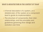 Slide 5 : What is Architecture in context of TOGAF