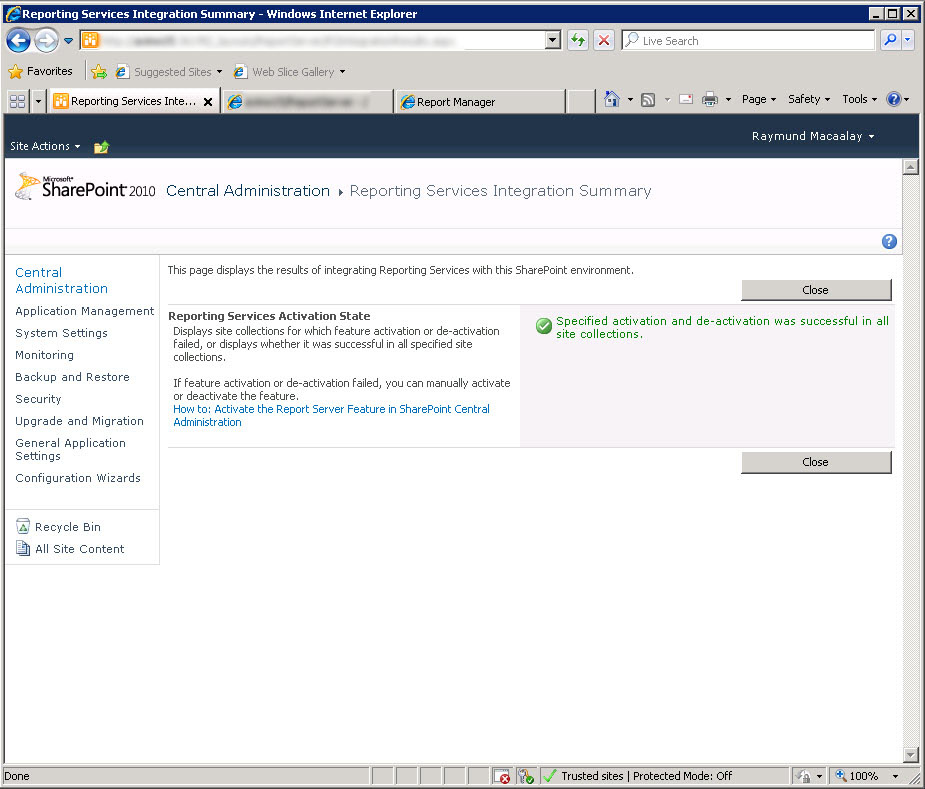 Integrating sharepoint 2010 and sql reporting services 2008 in 6 easy