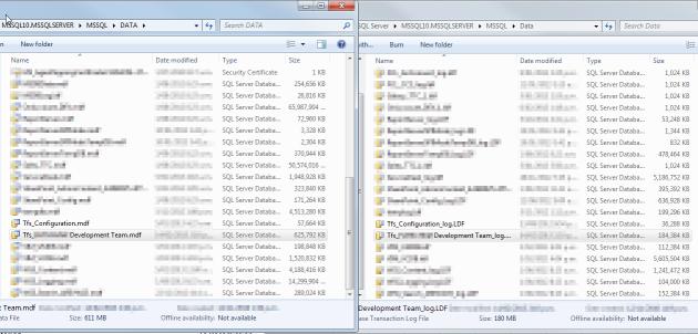 3 Copy Detached Database Files to New SQL Server