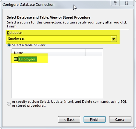 06 Configure Database Connection 3
