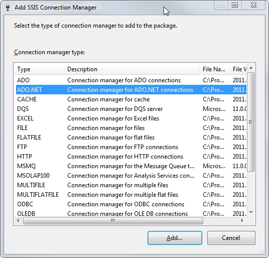 20 ADO.Net Connection